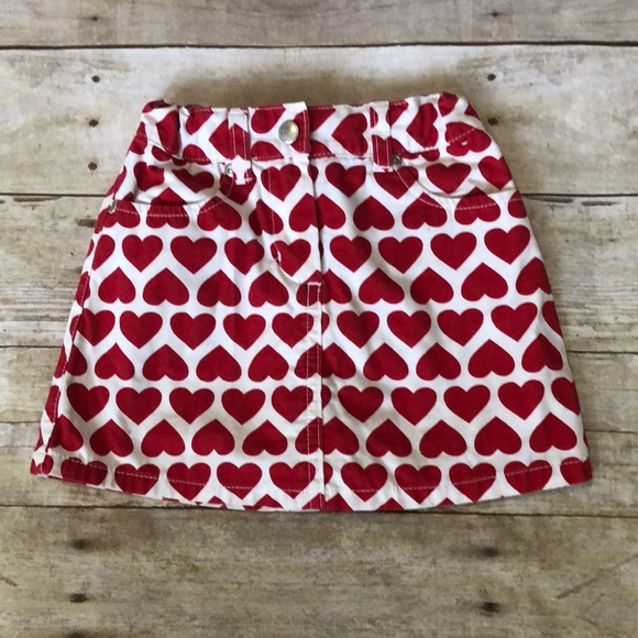 Gymboree Other - Gymboree toddler heart skirt